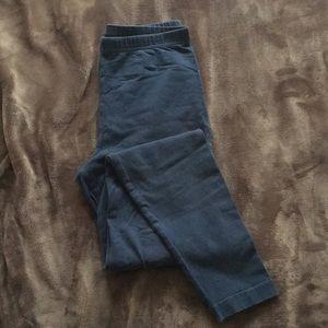 Teal American apparel leggings